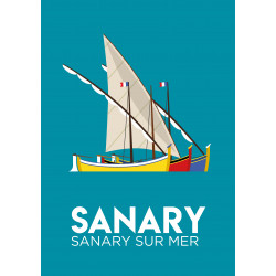 Sanary - affiche