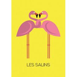 Flamingos - poster