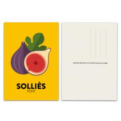 Figue de Solliès - carte