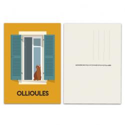 Fenêtre Ollioules - carte