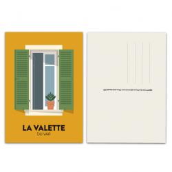 Fenêtre La Valette - carte