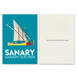 Sanary - carte