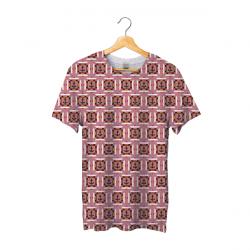 Tee shirt bachi carré rose