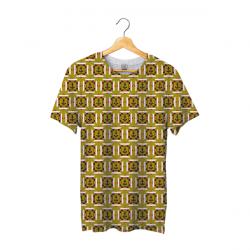 Tee shirt bachi carré vert