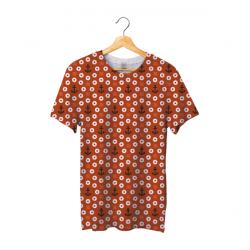 Tee shirt bachi rond rouge