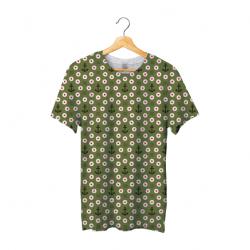 Tee shirt bachi round green