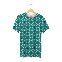Tee shirt bachi round blue