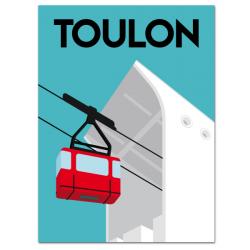 Téléphérique archi - affiche