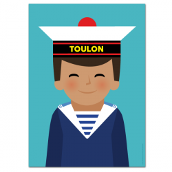 Marine boy - poster