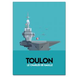 Aircraft carrier - poster