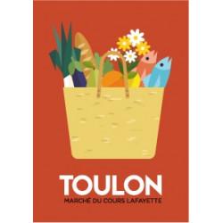 Market basket - poster