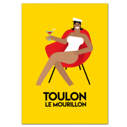 Dame du Mourillon - affiche