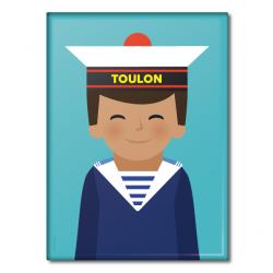 Marine boy - Magnet