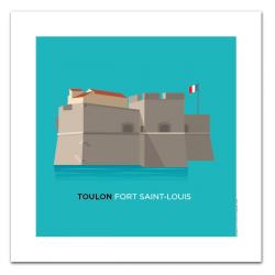 Fort St Louis - affiche