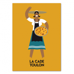 Cade saleswoman - poster