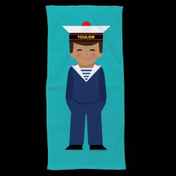 Towel Marine boy