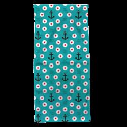 Towel blue bachi