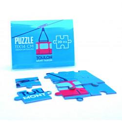 Puzzle 20 pièces Téléphérique