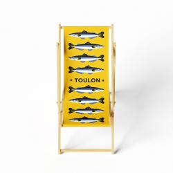 Transat adulte sardines jaune