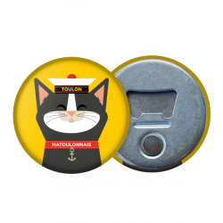 Magnetic bottle opener Cat