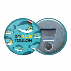 Magnetic bottle opener Fish
