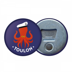Magnetic bottle opener Octopus
