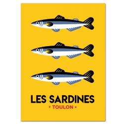 Les Sardines - affiche