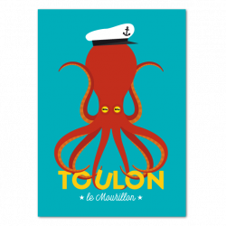 Capt'ain Octopus - poster