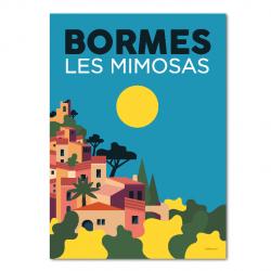 Bormes Les Mimosas - affiche