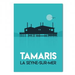 Tamaris matin - affiche