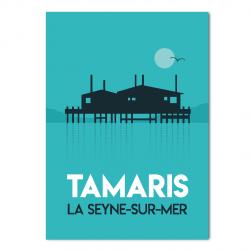Tamaris morning - poster