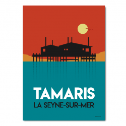 Tamaris soir - affiche