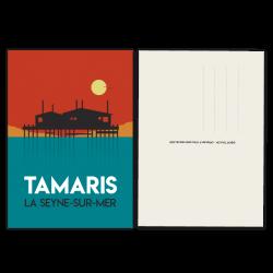 Tamaris sunset - carte