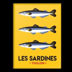 Sardines - Magnet