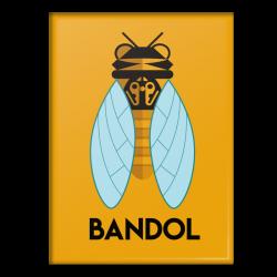 Bandol cigale - magnet