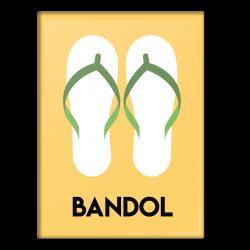 Bandol Flip Flops - Magnet