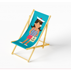 Lounge chair Sailor girl