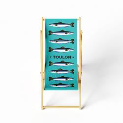 blue Fish Lounge chair