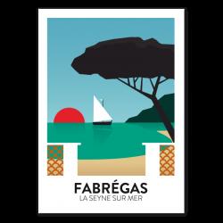 Fabrégas  - affiche