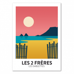 Les 2 Freres - poster