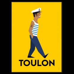 Toulonnais - affiche