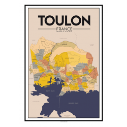 copy of city map N°3 - poster