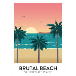 Brutal Beach - affiche