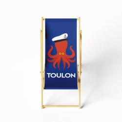 Lounge chair dark blue Octopus