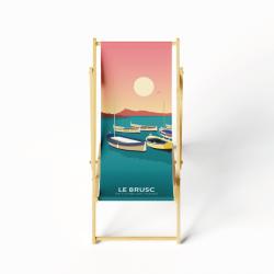 Lounge chair Brusc
