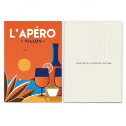 Outside Apero - card
