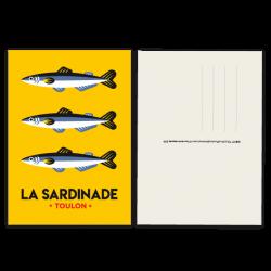 Sardines - carte