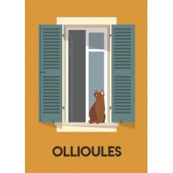 Fenêtre Ollioules - affiche