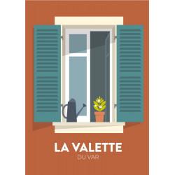 Fenêtre La Valette - affiche